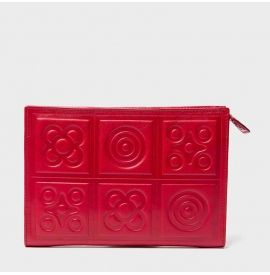 Barcelona tile purse