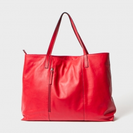 Bolso de piel shopper bag
